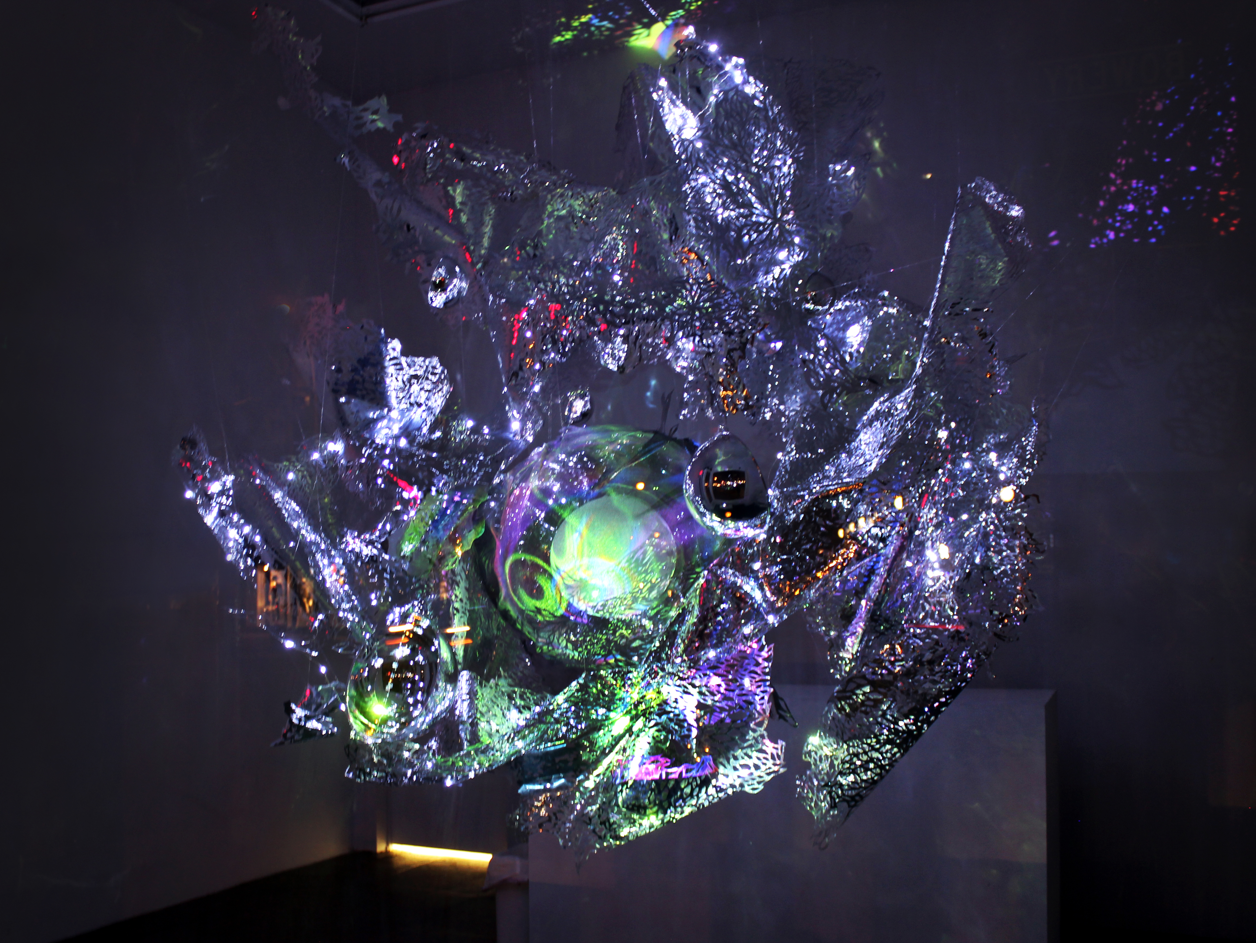 into lighting. immersive light sculptures by julia sinelnikova which transport you into an  ethereal world filled with reflective hues and flowing organic shapes \u2013 artmaze lighting b